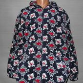 Тёплая толстовка-куртка.