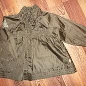 Лёгкая курточка Плащик Ветровка Отличное состояние на рост 98 см.