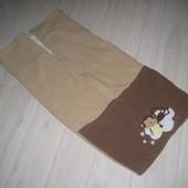 Спальник, конверт. плед в коляску санки автокресло