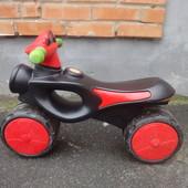 Велобег Ocie Sport красно-черный б/у беговел, спорт, пластик, велосипед, педалей