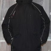 мужская зимняя курточка в отличном состоянии