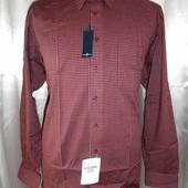 Фирменная натуральная мужская рубашка, ворот 46. Германия