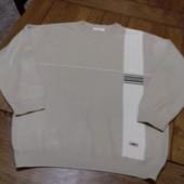 Мужской свитер размер ХЛ состояние очень хороше замеры: плечи 54 см пог 63 см талия 60 см длина 73 с