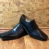 Новые кожаные туфли Clarks