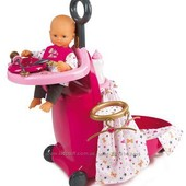 Smoby Baby Nurse раскладной чемодан 220316