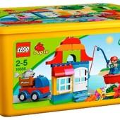 Большая коробка с конструктором lego duplo 10556