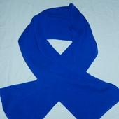 Новый синий шарф
