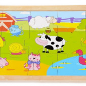 Пазл «Веселая ферма», Lelin Артикул: 22-020