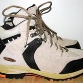 кожаные тёплые ботинки 26 см