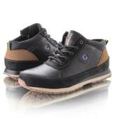 Зимние мужские ботинки разные модели, р.40-45