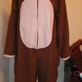 Пижама флисовая,мужская,размер М
