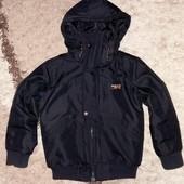 Стильная демисезонная куртка Next на 7 лет, рост 122 см