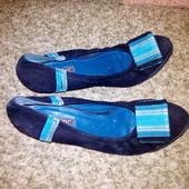 Замшевые туфли Basconi