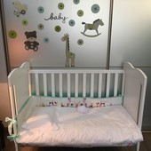 Кроватка Micuna Rosie + матрас