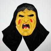 Резиновая маска хэллоуина