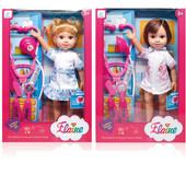 Кукла медсестра 36см с набором доктора
