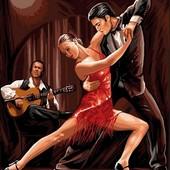 Картина по номерам Turbo В ритме танго VK047