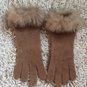 Перчатки НМ с опушкой Ван сайз