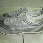 Geox (38) кожаные кроссовки