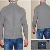 Мужской шерстяной свитер на молнии Paul Kehl (M)