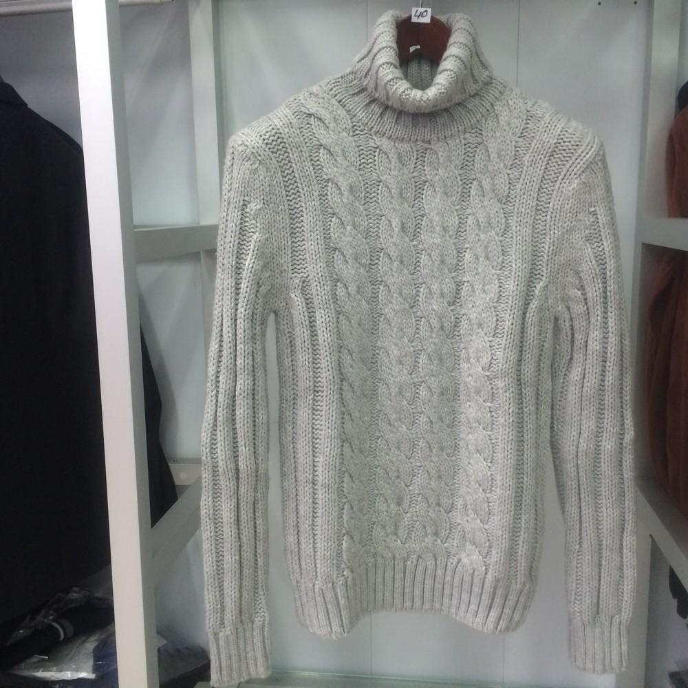 Мужской свитер ELM серый M фото №1