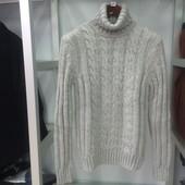 Мужской свитер ELM серый M