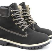 Зимние ботинки Timberland 112 черные