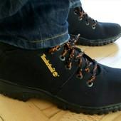 Мужские ботинки на меху по типу Timberland 40-45 размер