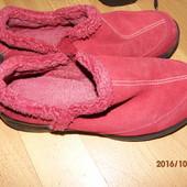 (№і0127)фирменные замшевые ботиночки 39-40 р Landsend