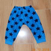 Теплые брюки earlydays для мальчика 6-12 месяцев. 80 см