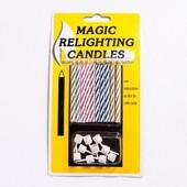 """Свечи """"магические"""", негаснущие."""