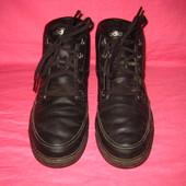 Кожаные демисезонные кроссовки Adidas (оригинал) с мехом внутри - 43 1/3  размер