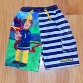 Красивые шорты Tu для мальчика 3-4 года, 98-104 см
