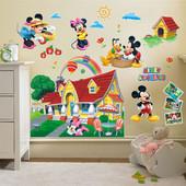 Наклейки на стену Волшебный мир Disney