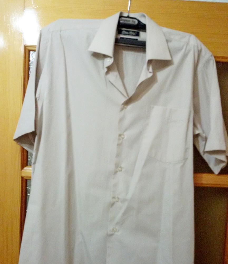 Мужская рубашка с коротким рукавом, импортная р. 48-50 фото №1