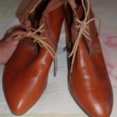 продам деми ботиночки ботильоны женские H&M размер 39 (8амер.)