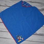 Фирменный плед покрывало в коляску или кроватку Микки Маус