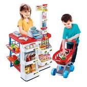 Игровой набор Супермаркет с тележкой 668-01  касса