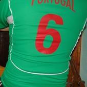 Фирменная  спортивная футболка футбольная Admiral Portugal s-m