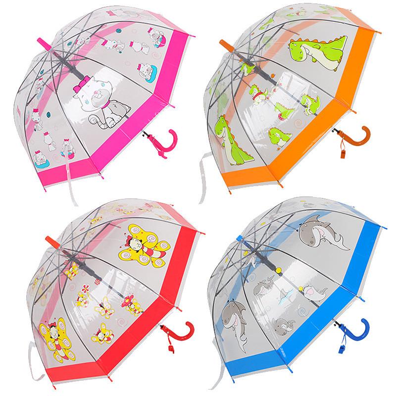 Детский яркий зонт зонтик трость грибочком 2-5 л, для мальчика и для девочки. фото №1