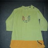 фирменное платье на 4-6 лет