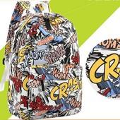"""3-12 Рюкзак """"Crash"""" / Городской рюкзак """"Crash"""" / прогулочный женский"""