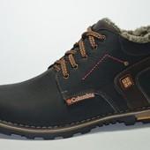 Зимние ботинки Columbia из натур кожи, на меху