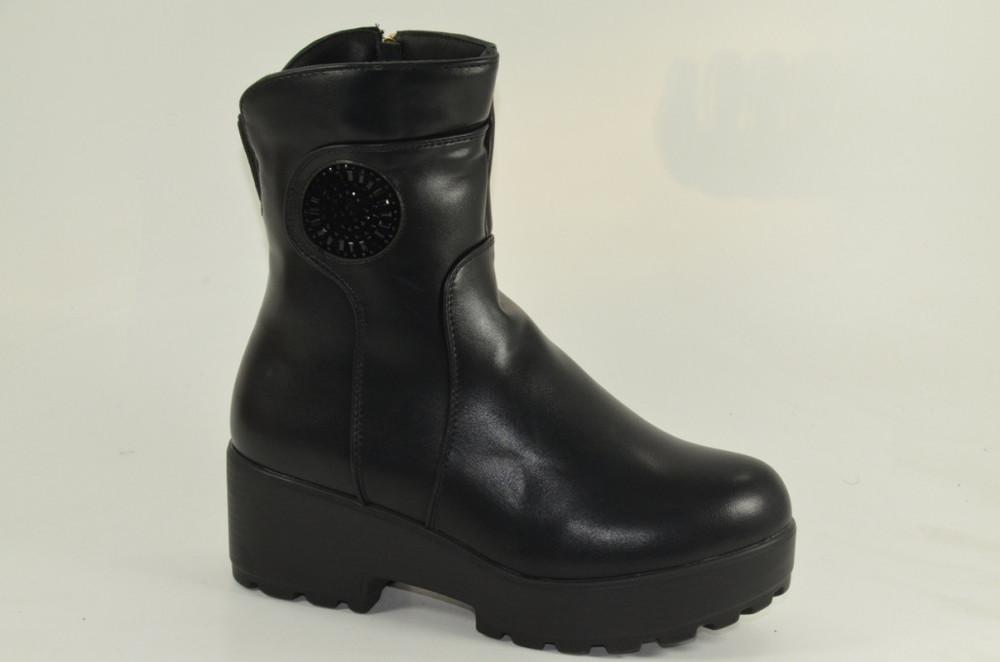 Красивые зимние ботиночки, в наличии 38 р фото №1