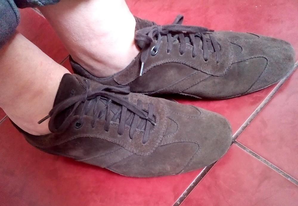 Замшевые кроссовки Samsonite. 38р. фото №1