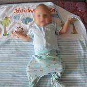 Одеяло для новорожденных трикотаж 80х100