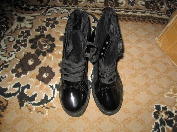 черевики зимові фото №1