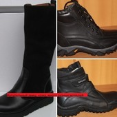 СП Зимние сапоги, ботинки кожаные, замшевые