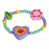 Браслет фиолетовый «Сердце», Bino Артикул: 89043