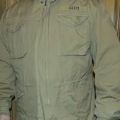 Фирмовая зимняя Милитари стильная курточка-парка бренд S&T (Эс-энд-ти).хл .